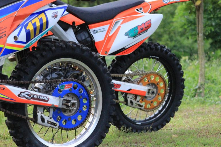 gear gms racing terpasang
